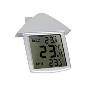 JSG Accessories reg; Station météo numérique pour fenêtre avec thermomètre intérieur et extérieur de la marque JSG Accessories image 0 produit