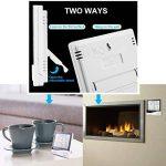 Keynice Intérieur Thermomètre et hydromètre pour maison ou bureau avec LCD digital affichage réveil numérique HTC-1 de la marque KEYNICE image 4 produit