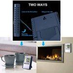 Keynice Thermomètre LCD digitale température humidité pour intérieur extérieur Wall Mount moniteur Capteur thermostat home office de la marque KEYNICE image 2 produit