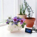 Keynice Thermomètre digital, capteur de température avec branchement USB. Degrés Farenheit et Degrés Celsius, écran LCD couleur. de la marque KEYNICE image 1 produit