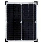 Kit panneau solaire Monocristallin 20W 12V et régulateur 5A de la marque image 1 produit