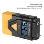 KKmoon Mini 3 en 1 LCD Numérique Bois Matériaux de Construction Humidimètre Humidité Testeur Détecteur avec Mesure de Température ambiante de la marque KKmoon image 2 produit