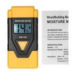 KKmoon Mini 3 en 1 LCD Numérique Bois Matériaux de Construction Humidimètre Humidité Testeur Détecteur avec Mesure de Température ambiante de la marque KKmoon image 4 produit