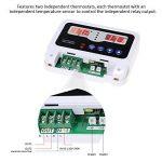 KKmoon Simple-circuit LED Intelligent Haute Puissance Thermostat Thermostat Contrôleur Pré-câblé NTC Chauffage Refroidissement Commutateur De Commande avec 2 Capteur Imperméable Capteur de la marque KKmoon image 3 produit