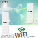 KuWFi Wireless Outdoor CPE Distance Extérieure 2KM 150Mbps Point D'accès Sans Fil Extérieur Routeur CPE WIFI Avec Adaptateur UE POE de la marque KuWFi image 2 produit