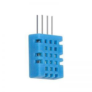 kwmobile Capteur numérique humidité température - Hygromètre thermomètre maison intérieur ou extérieur pour Raspberry Pi et Arduino DHT11 de la marque kwmobile image 0 produit