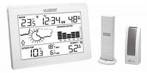 La Crosse Technology MA10006 Station météo complète avec passerelle pour smartphone et tablette système Mobile Alerts - Blanc de la marque La Crosse Technology image 0 produit