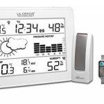 La Crosse Technology MA10006 Station météo complète avec passerelle pour smartphone et tablette système Mobile Alerts - Blanc de la marque La Crosse Technology image 2 produit