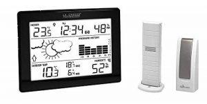 La Crosse Technology MA10006 Station météo complète avec passerelle pour smartphone et tablette système Mobile Alerts - Noir de la marque La Crosse Technology image 0 produit