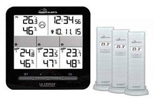 La Crosse Technology MA10421 Station de température connectée Mobile Alerts Noir de la marque La Crosse Technology image 0 produit