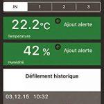 La Crosse Technology MA10421 Station de température connectée Mobile Alerts Noir de la marque La Crosse Technology image 3 produit