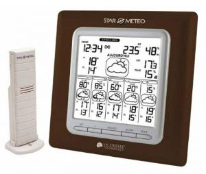 La Crosse Technology WD6003 Station Starmétéo J + 5 avec Probabilité de pluie -Chocolat de la marque La Crosse Technology image 0 produit