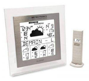 La Crosse Technology WD9542 Station Météo France J+4/Alerte - Transparent/Aluminium de la marque La Crosse Technology image 0 produit