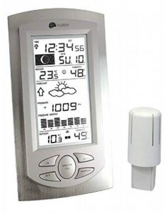 La Crosse Technology WS 9032 Station Météo Aluminium/Transparent de la marque La Crosse Technology image 0 produit