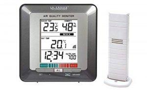 La Crosse Technology WS272 Station de températures avec indicateur de la qualité de l'air - Gris de la marque La Crosse Technology image 0 produit