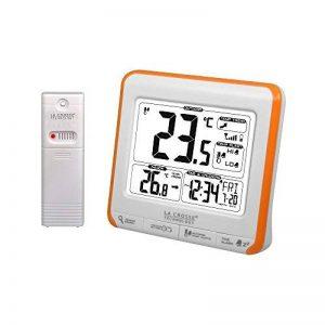 La Crosse Technology WS6811 Station de températures Intérieure/Extérieure -Orange et Blanc de la marque La Crosse Technology image 0 produit