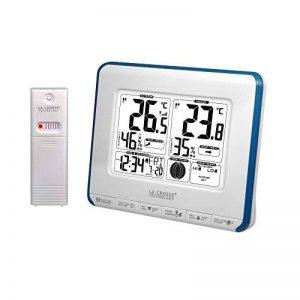 La Crosse Technology WS6812 Station de températures avec alertes et phases de lune - Blanc et Bleu de la marque La Crosse Technology image 0 produit
