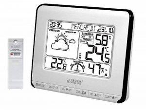 La Crosse Technology WS6818 Station Météo avec Indicateur de Confort - Blanc/Noir de la marque La Crosse Technology image 0 produit