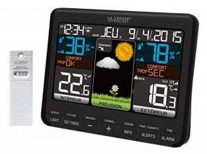La Crosse Technology WS6825 - Station météo colorée - Noir de la marque La Crosse Technology image 0 produit