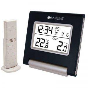 La Crosse Technology WS9090 Station de températures intérieur/extérieur - Noir de la marque La Crosse Technology image 0 produit