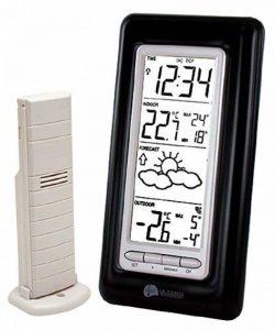 La Crosse Technology WS9132 station météo avec températures Intérieur/Extérieur - Noir de la marque La Crosse Technology image 0 produit
