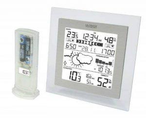 La Crosse Technology WS9257 Station Météo complète - Transparent/Aluminium de la marque La Crosse Technology image 0 produit