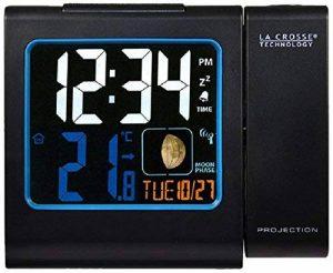 La Crosse Technology WT551 Réveil Radio Piloté avec projection Ecran Couleurs - Noir de la marque La Crosse Technology image 0 produit
