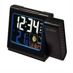 La Crosse Technology WT551 Réveil Radio Piloté avec projection Ecran Couleurs - Noir de la marque La Crosse Technology image 1 produit