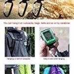 [LAD Weather] Mousqueton montre altimètre/baromètre/boussole numérique/prévisions météo/hygromètre/thermomètre American Sensor d'escalade/course/randonnée de la marque LAD WEATHER image 1 produit