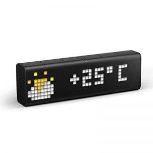 LaMetric Time : horloge Wi-Fi avec applications de la marque LaMetric image 0 produit