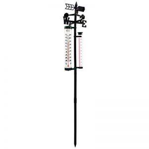 Lantelme 6665Station météo analogique avec thermomètre et pluviomètre–Direction du vent Tableau pour mesures dans jardin de la marque Lantelme image 0 produit