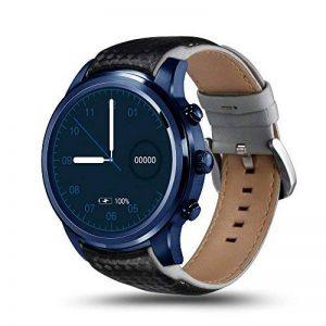 LEM5 Pro Smartwatch Android 5.1 Quad Core 1.3 GHz 2 GB / 16 GB 2 G / 3G Smartwatch WiFi Podomètre Bluetooth Nano SIM WIFI GPS (Bleu) de la marque LEMFO image 0 produit