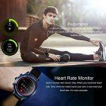 LEM5 Pro Smartwatch Android 5.1 Quad Core 1.3 GHz 2 GB / 16 GB 2 G / 3G Smartwatch WiFi Podomètre Bluetooth Nano SIM WIFI GPS (Bleu) de la marque LEMFO image 4 produit
