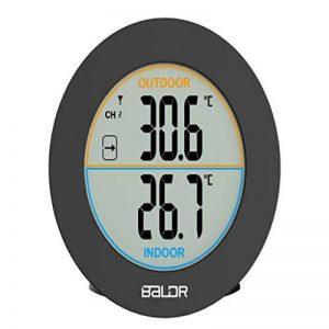 MagiDeal Horloge Numérique LCD Thermomètre Hygrometer Cristaux Liquide Électronique Compteur de la marque MagiDeal image 0 produit