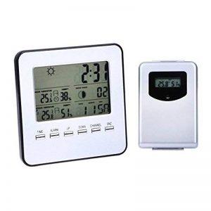 Moniteur de station météo sans fil,vanpower Digital Wireless intérieur/extérieur station météo et capteur humidité de la température de la marque vanpower image 0 produit