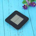Multi-usage Station météo LCD thermomètre hygromètre Prévision capteur Réveil température hygromètre Regard Natral de la marque Regard Natral GJ image 2 produit