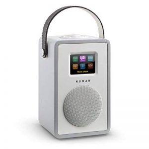 NUMAN Mini Two - Radio Internet WiFi LAN et tuner DAB+ numérique avec lecteur réseau (tuner radio FM, fonctions réveil, Bluetooth) - érable de la marque Numan image 0 produit
