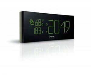 Oregon Scientific Horloge Chrome Radio-Pilotée PRYSMA Grise Bar 292, avec Prévisions Météo et Indication de la Température et de l'humidité intérieures et extérieures de la marque Oregon Scientific image 0 produit