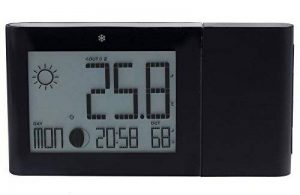 Oregon Scientific - Horloge Station Météo Alizé - Prevision meteo thermo hygro phase lunaire (Noir) - BAR268HG-BK de la marque Oregon Scientific image 0 produit