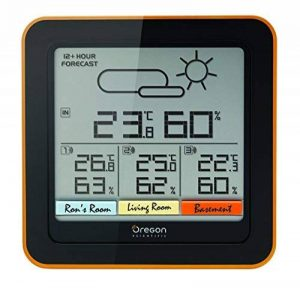 Oregon Scientific RAR502 - Station météo confort multi-zone de la marque Oregon Scientific image 0 produit