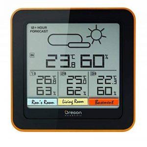 Oregon Scientific RAR502 - Station météo confort multi-zone de la marque Oregon Scientific image 0 produit