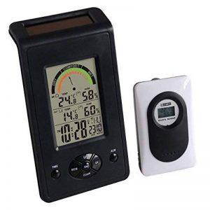 Orium 15023 Thermo-Hygro Solaire Digital ABS Noir/Blanc 9,5 x 4,8 x 17,100 cm de la marque Orium image 0 produit