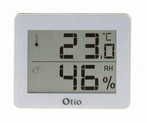 Otio - Thermomètre/Hygromètre Blanc de la marque Otio image 0 produit