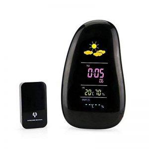 PowerLead LED d'intérieur Station météo Température extérieure Humidité Horloge RF capteur à distance de la marque PowerLead image 0 produit