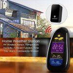 PowerLead LED d'intérieur Station météo Température extérieure Humidité Horloge RF capteur à distance de la marque PowerLead image 4 produit
