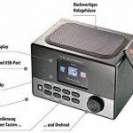 Radio-réveil Internet Wi-Fi IRS-600 et station de chargement USB de la marque VR-RADIO image 3 produit