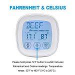 Rantizon Nourriture, thermomètre, 19.2x 9x 3.1cm de la marque Rantizon image 3 produit
