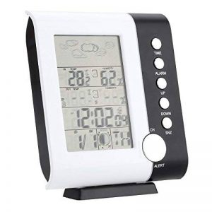 Réveil Météo Thermomètre Hygromètre sans Fil Affichage LCD Ts-H105 de la marque Generic image 0 produit