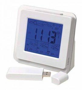 Sans Fil Station Météo, 4 Day Prévision, Horloge, Alarme, Date, Live Blanc - Tout Neuf de la marque Inspirion image 0 produit