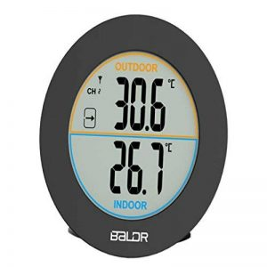 Sharplace Thermomètre Numérique D'affichage Hygromètre Horloge Compteur Température Décoration de la marque Sharplace image 0 produit